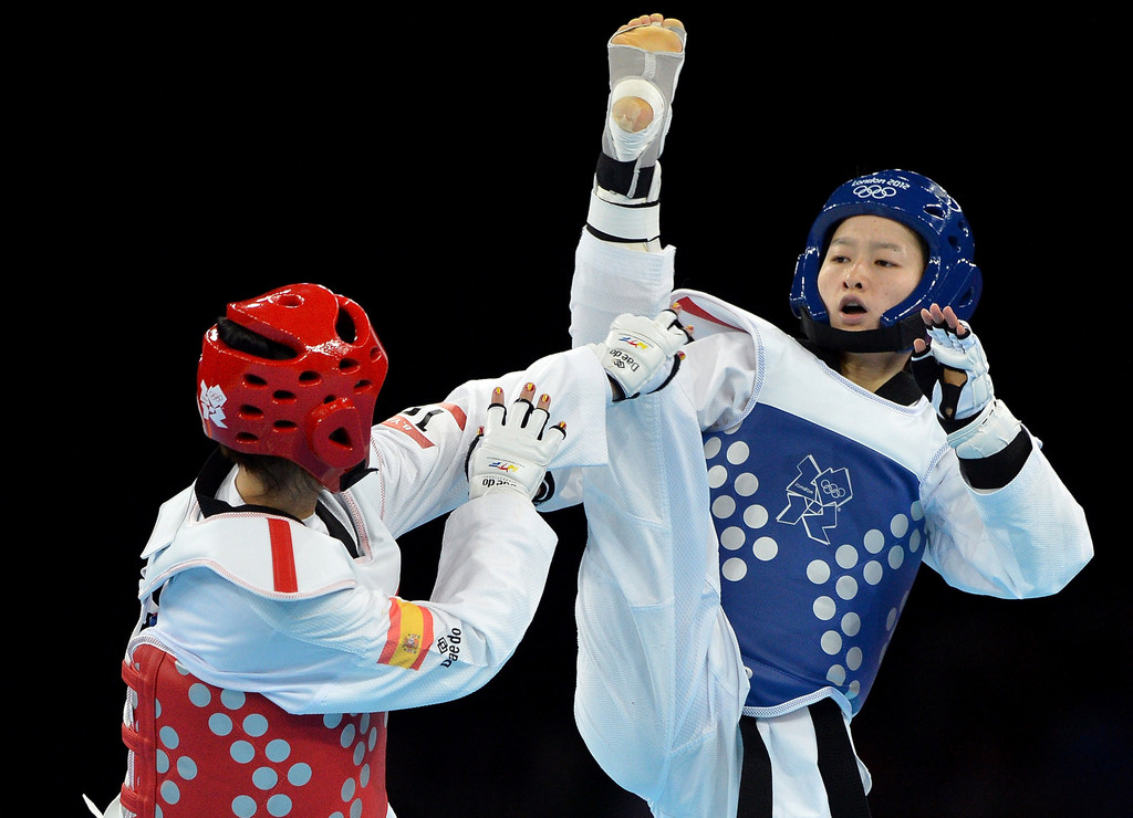 Wu+Jingyu+Bridgitte+Yague+Enrique+Olympics+dos3b2DI2d5x
