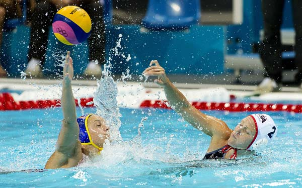 Water polo women final day