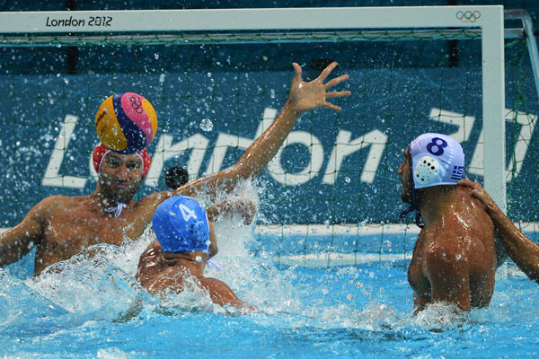 Nine-time Olympic champions lose second game