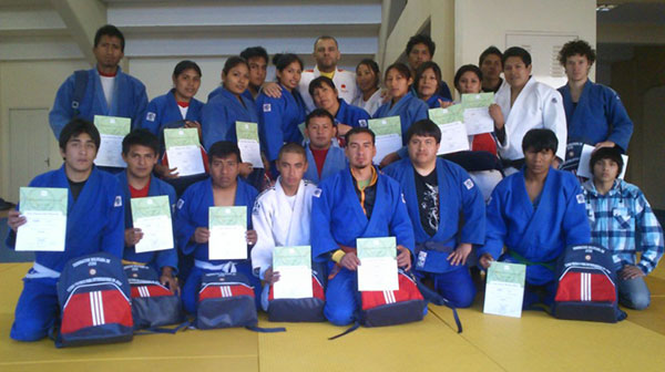 A Coaching Course held in the City of Sucre