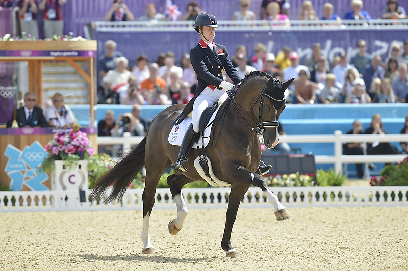 Dujardin and Valegro shine in Olympic Dressage