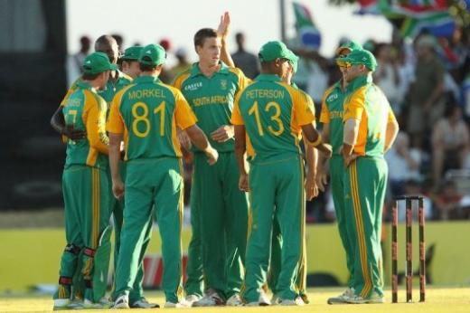 South Africa takes over as top team