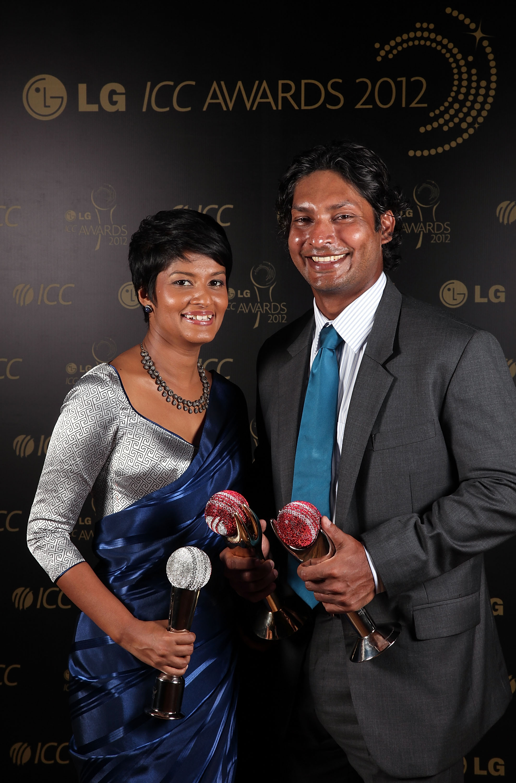 Kumar Sangakkara takes top honours at glittering