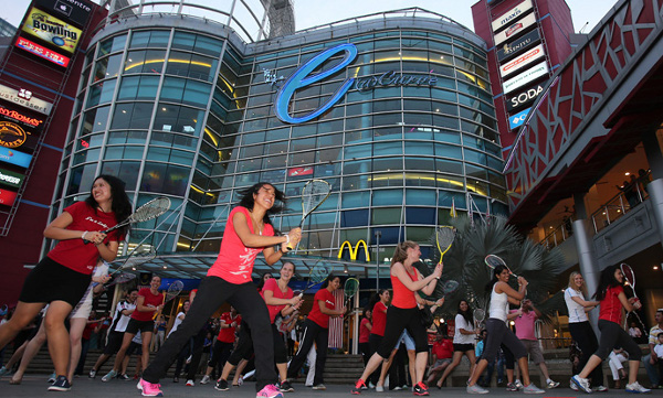 Squash Flashmob Hits Malaysia