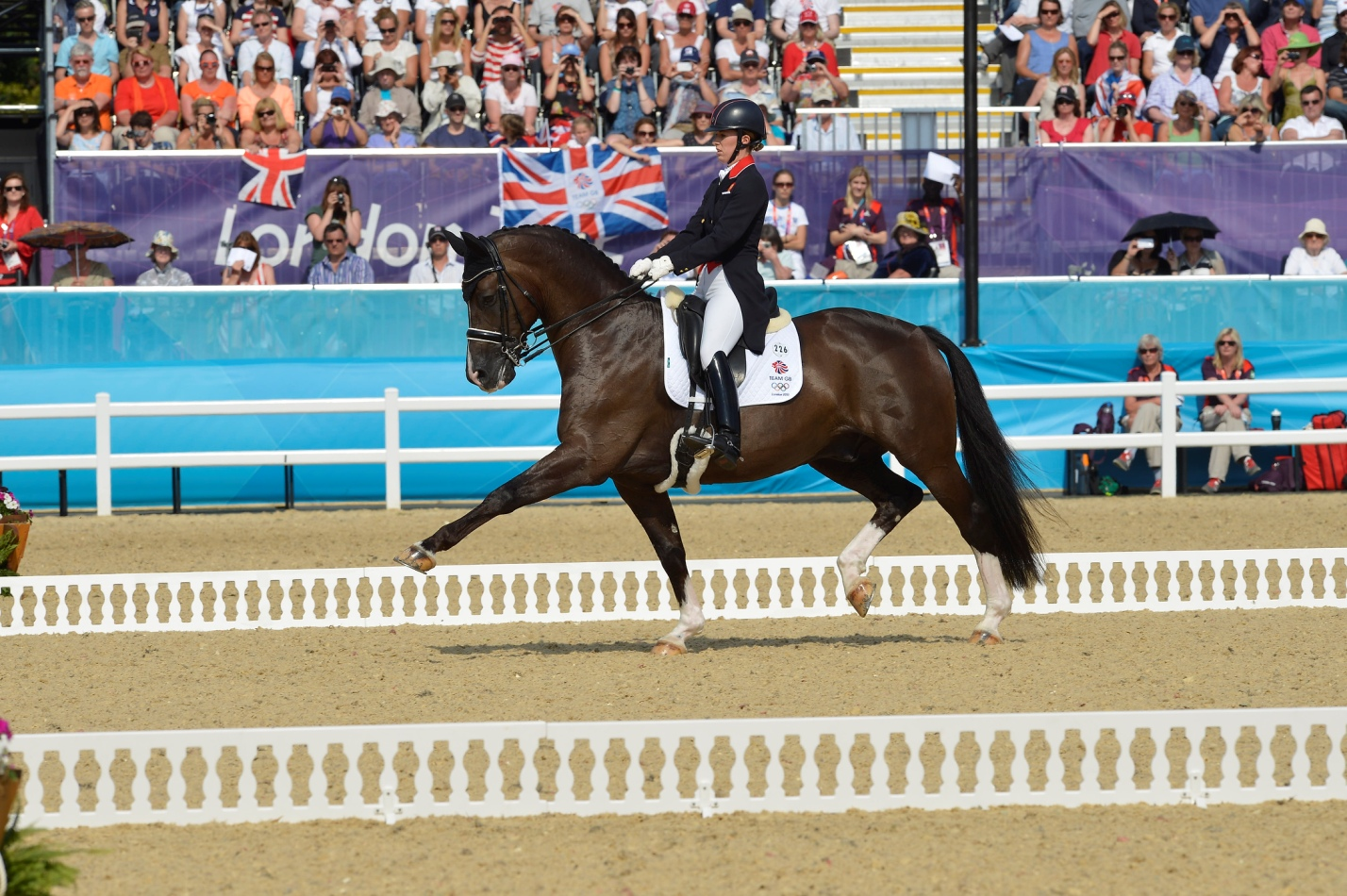 Charlotte Dujardin and Valegro London 2012 Kit Houghton