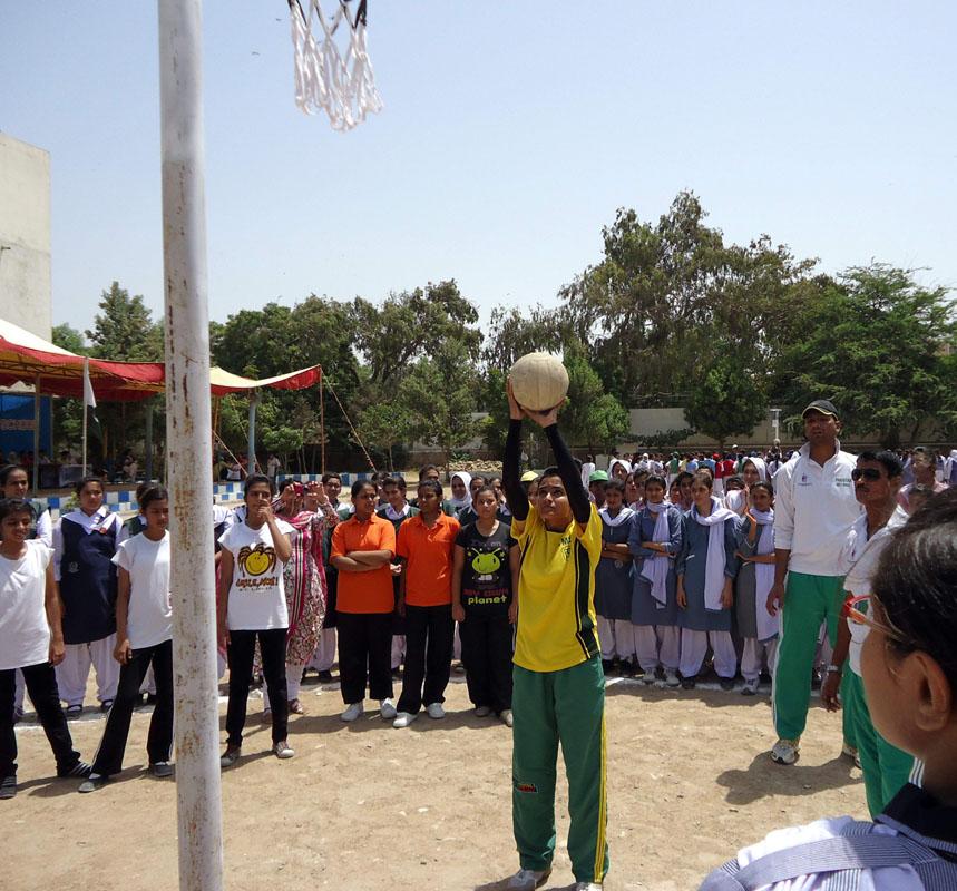 Trials of Sindh Men & Women 32nd National Games