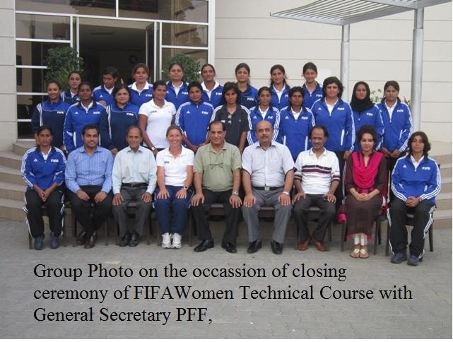 FIFA Women Technical Course for women coaches