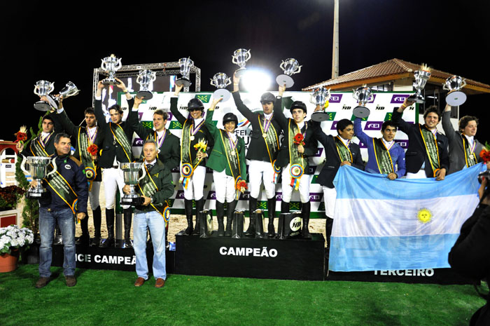 Americas and South American Jumping 2012