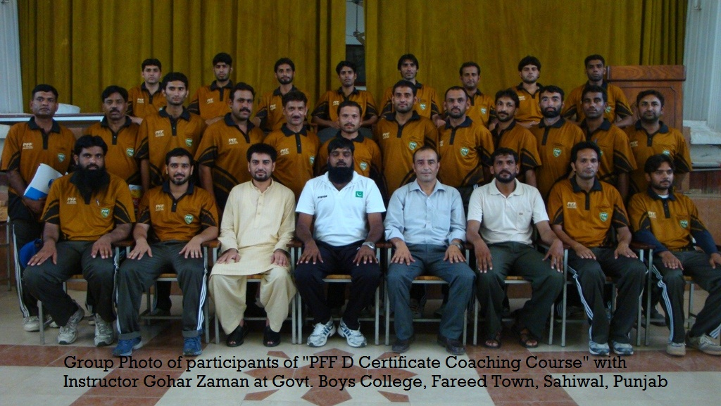 Football 'D' Certificate Coaching Course concludes