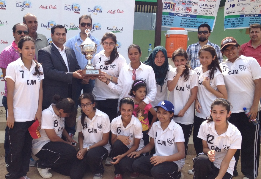 2nd Haque Academy Girls Throwball Tournament
