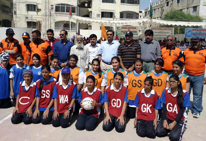 Karachi Girls Netball Championship 2012 The Olympics Sports