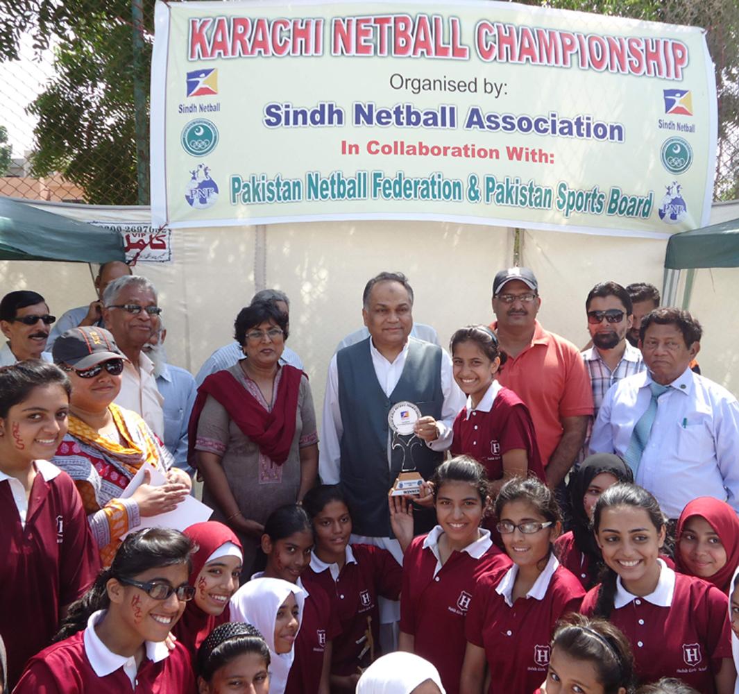 Karachi Girls Netball Championship 2012