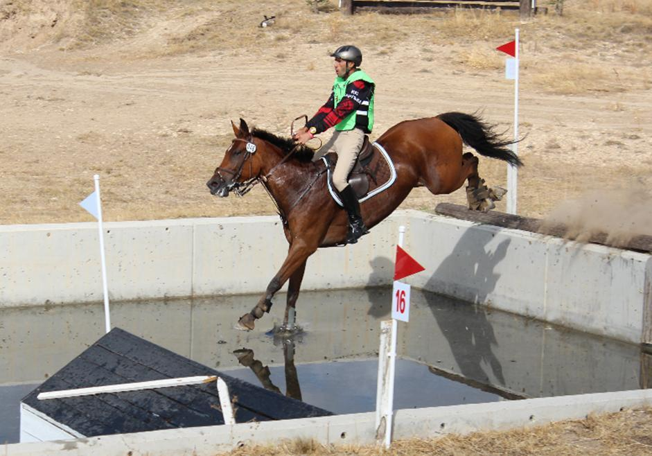 Dobrev claims gold for Bulgaria Eventing