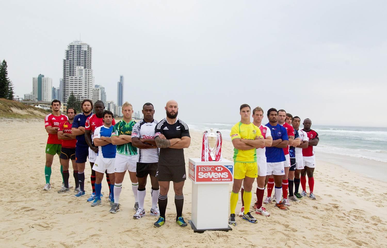 Captains launch new HSBC Sevens World Series
