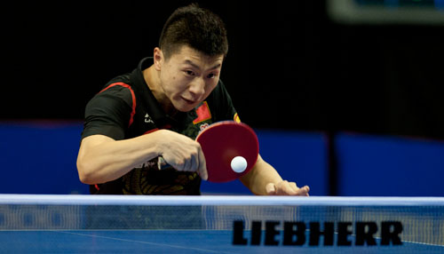 Liverpool Gold, Ma Long Wins Once Again in England