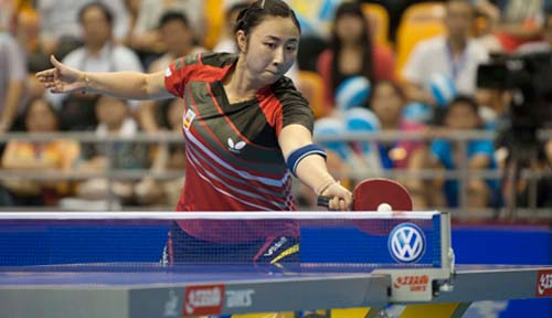 Shen Yanfei Secures New Career World Ranking