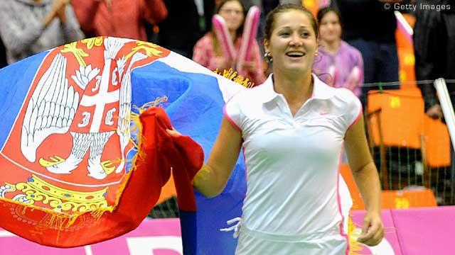 Jelena wins BNP Paribas Heart Award
