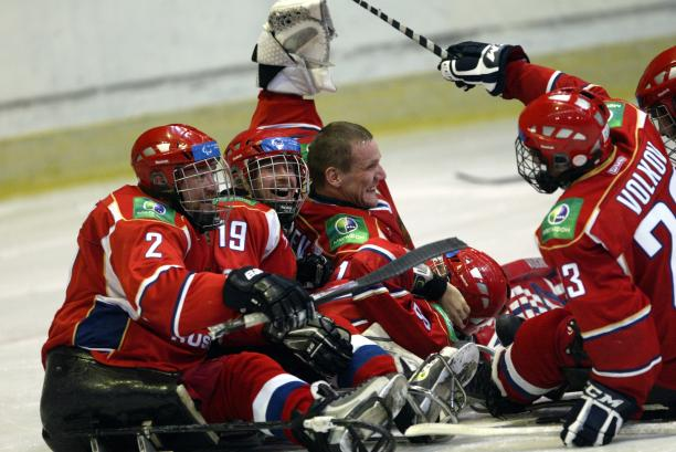Russia claim gold at 2012 IPC Ice Sledge Hockey