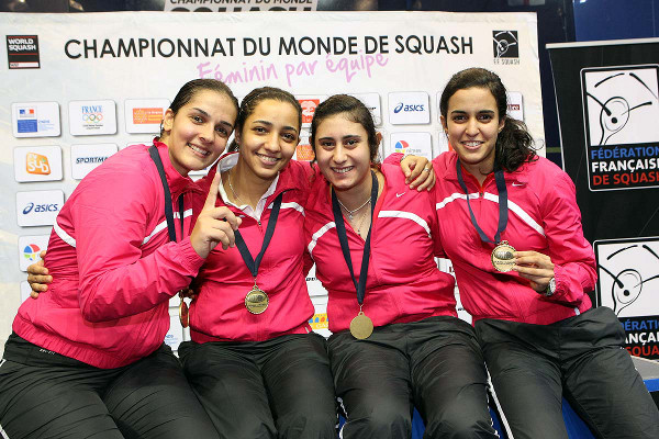 Egypt Snatch Women's World Team Title