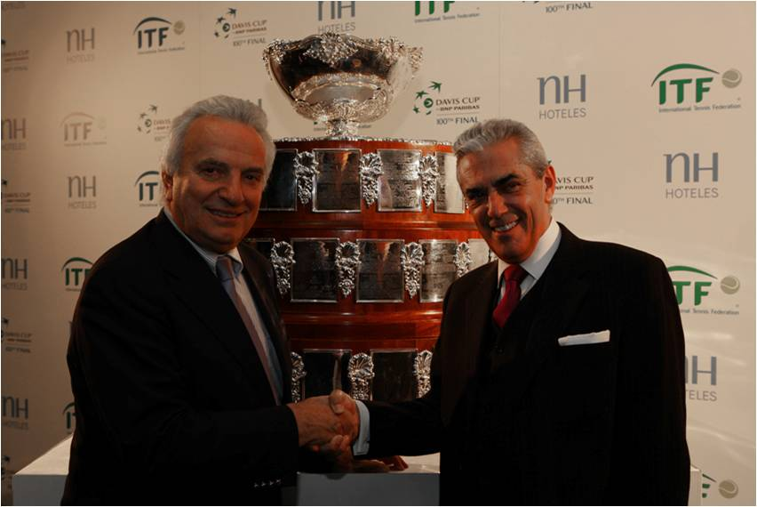 NH Hoteles extends sponsorship of Davis Cup by BNP Paribas