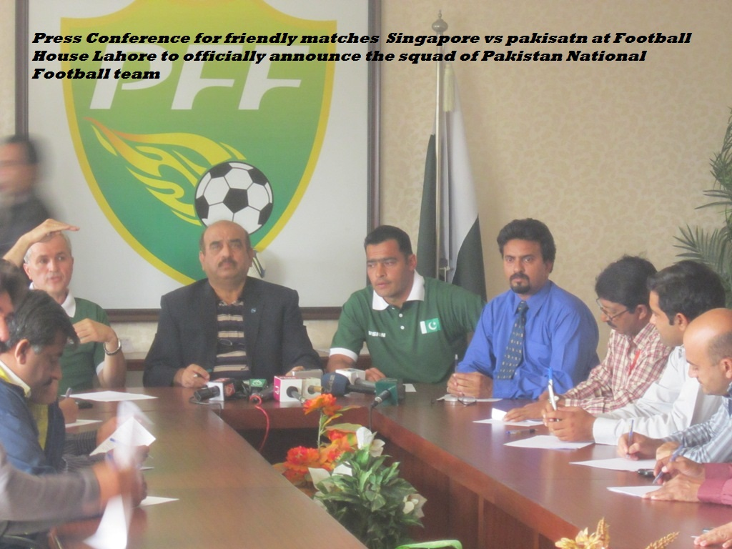 PFF Press Conference at PFF House Lahore