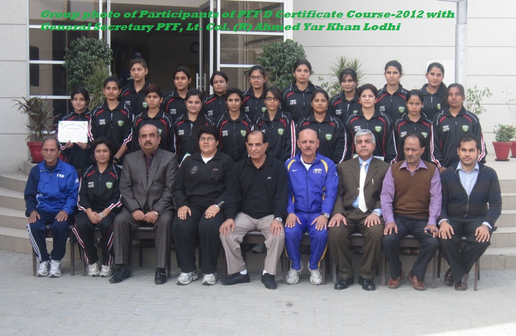 PFF D Certificate Coaching Course-2012