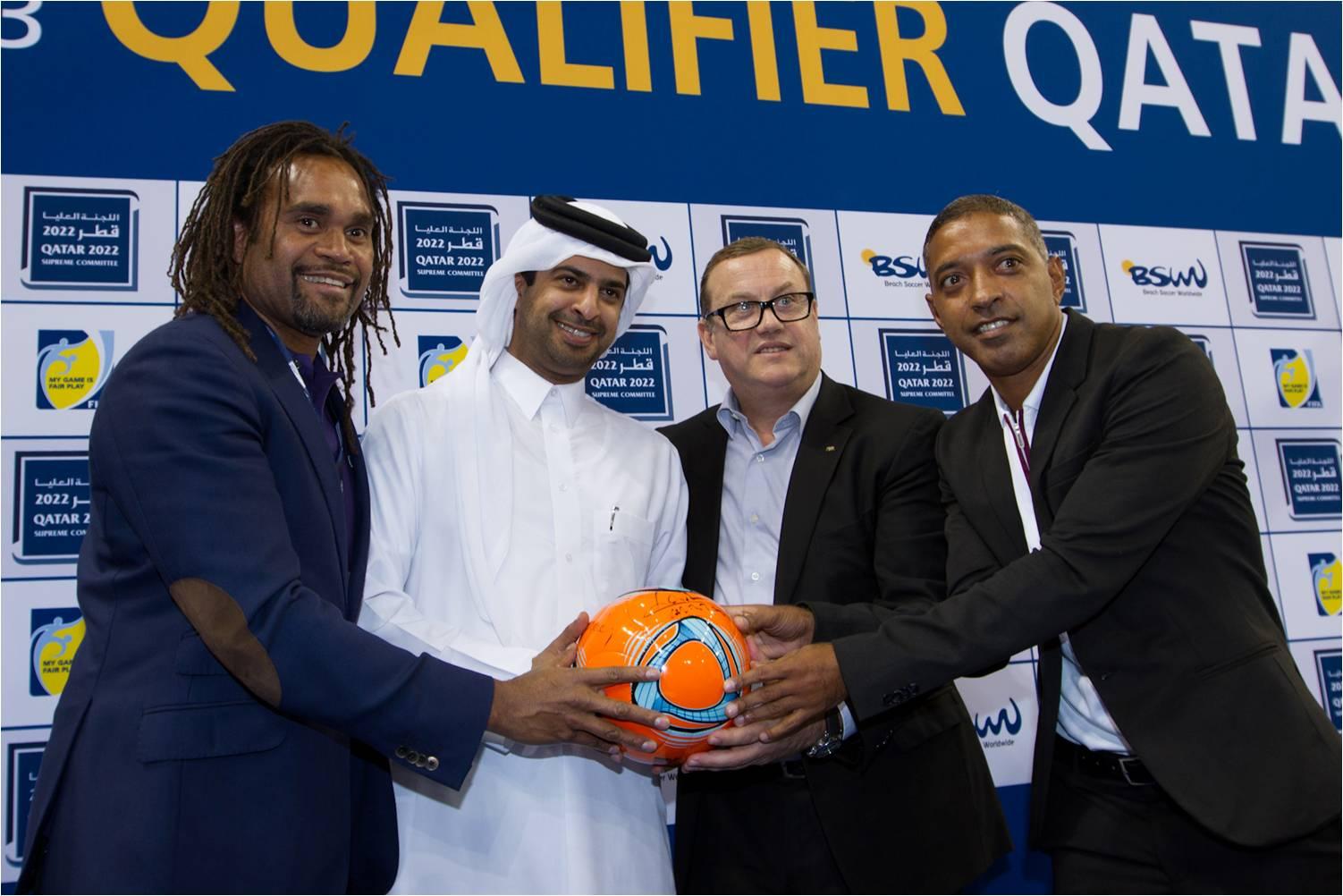 Qatar to host FIFA Beach Soccer World Cup