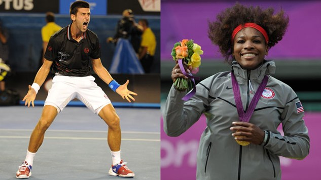 Djokovic and Williams named World Champions