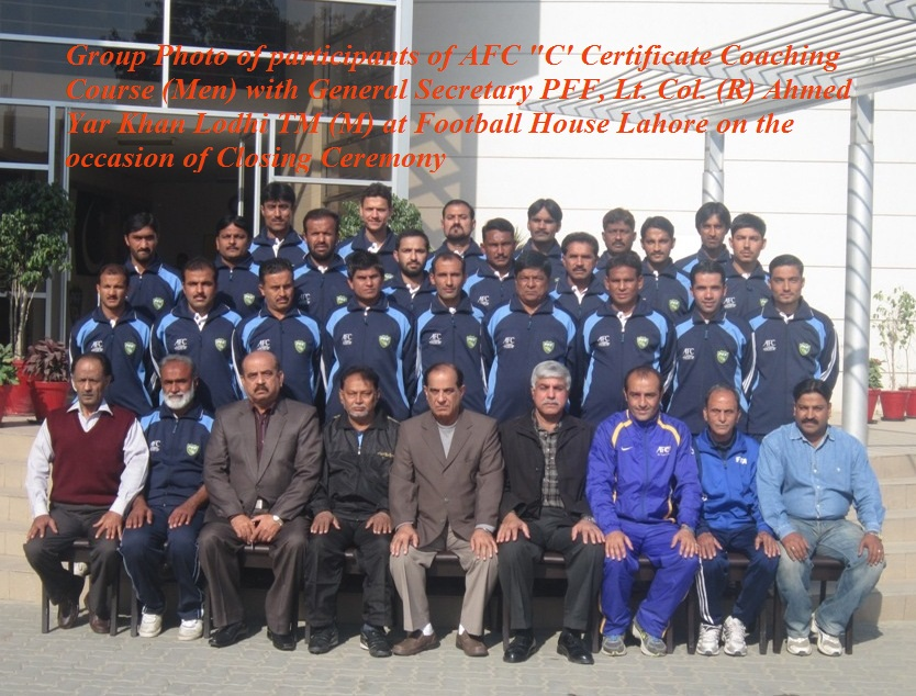 AFC C Certificate Coaching Course concluded