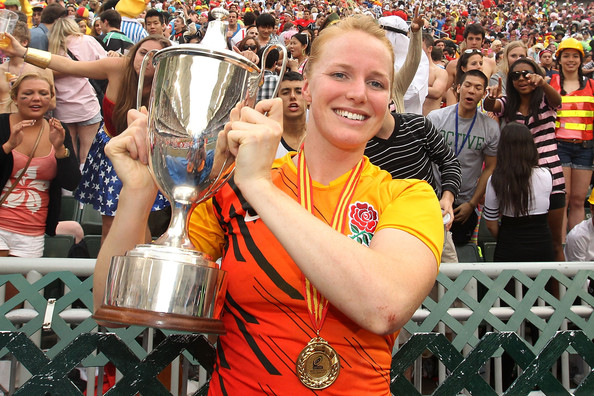 England's Staniford Named IRB Women's Player of the Year
