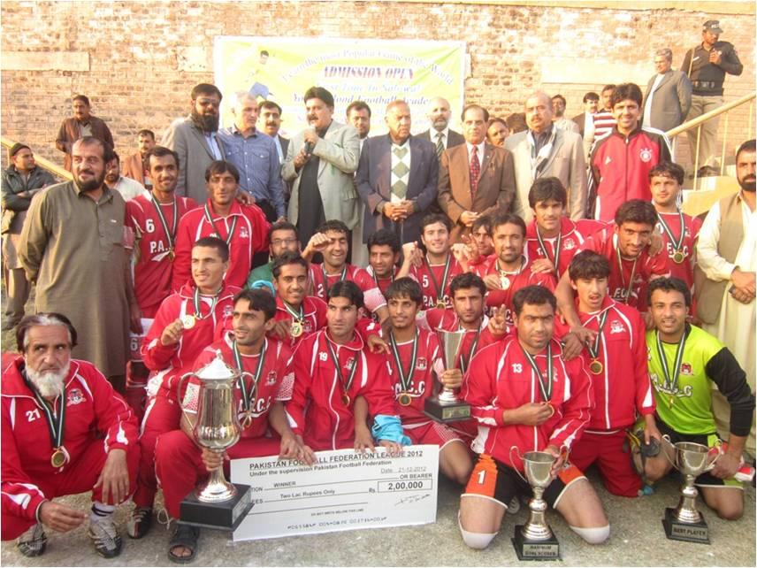 PACA Chaman wins 9th PFFL-2012 Final