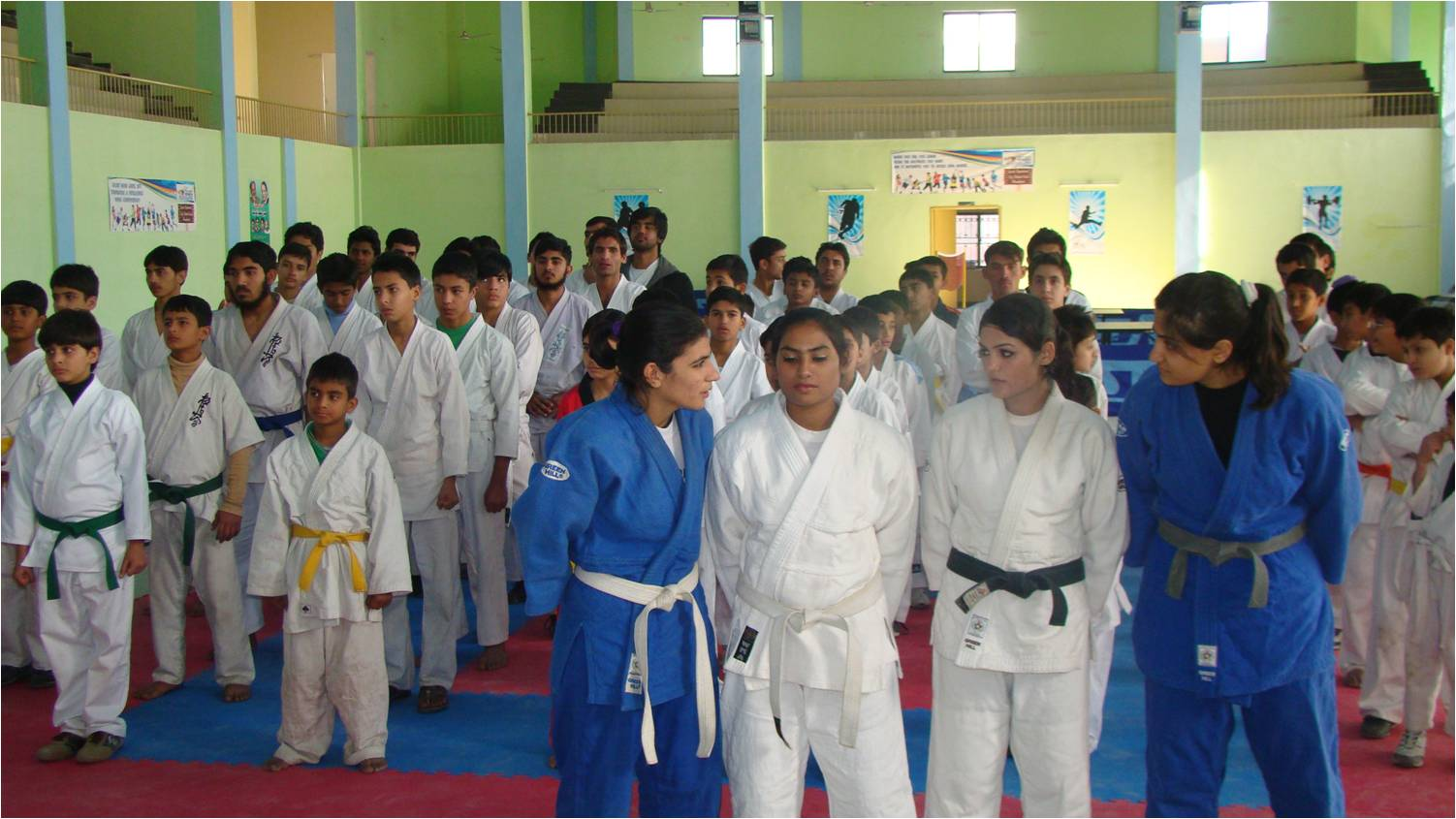 Rawal Cadet College clinched the trophy by securing 155 in 1ST Quaid-e-Azam Judo Championships 2012