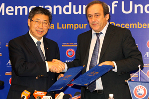 AFC, UEFA sign historic MoU