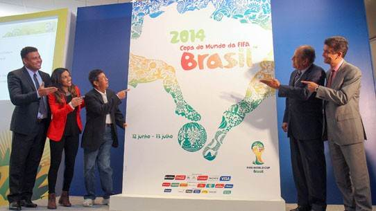 FIFA World Cup ambassadors unveil Official Poster