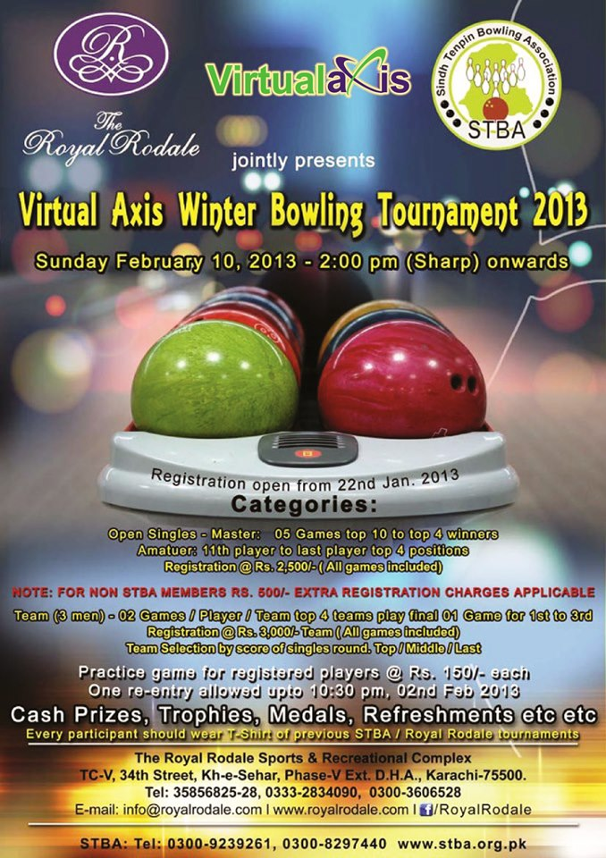 Virtual Axis Winter Bowling Tournament 2013-Poster-5Laa