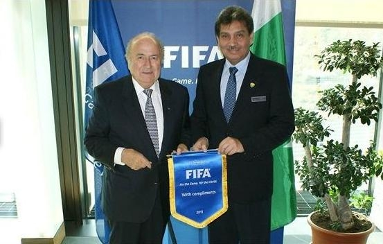 President FIFA hails the efforts of Faisal Saleh Hayat