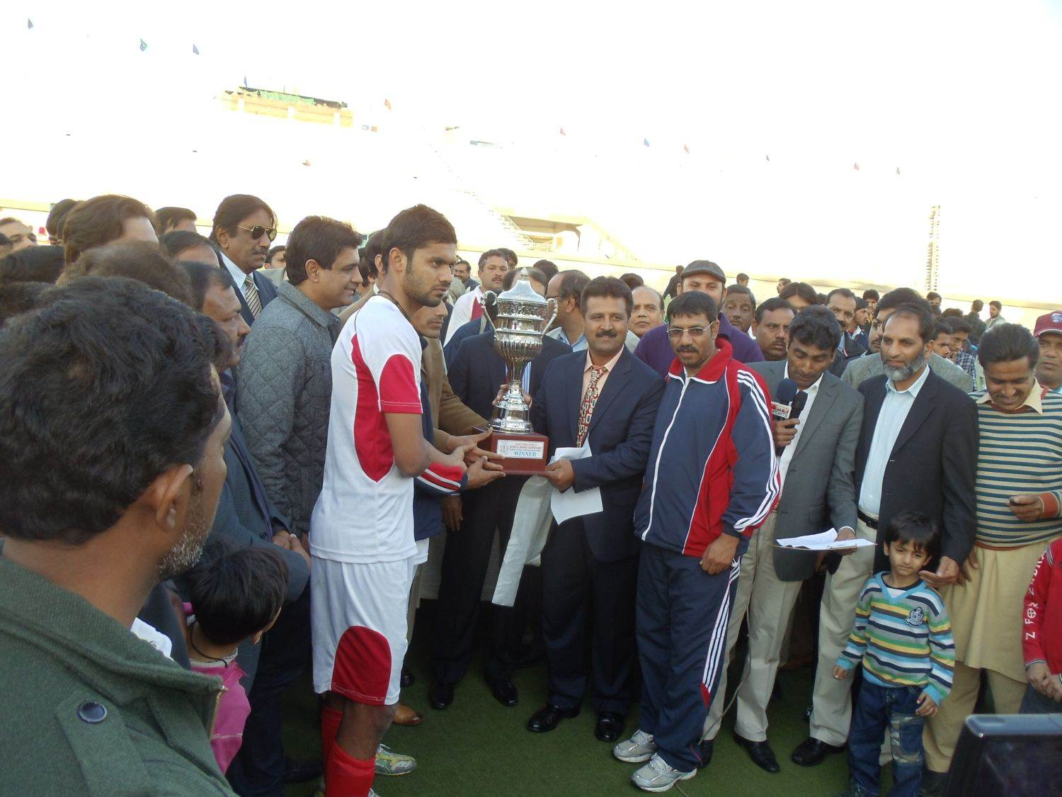 U-21 National Hockey went to Pakistan WAPDA