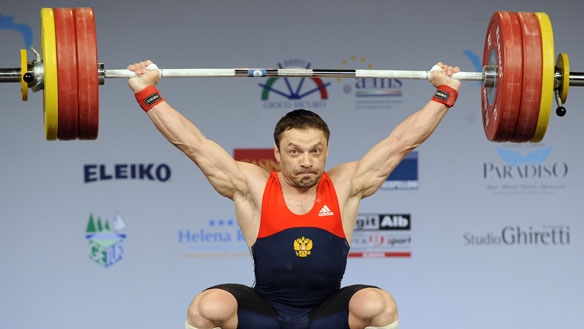 IOC disqualifies Russian weightlifter from Athens