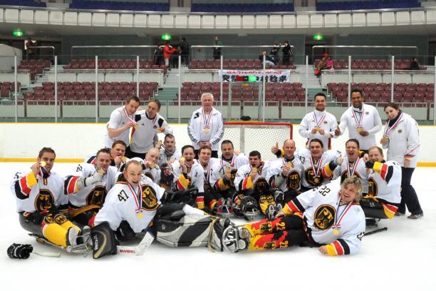 Germany wins 2013 IPC Ice Sledge Hockey