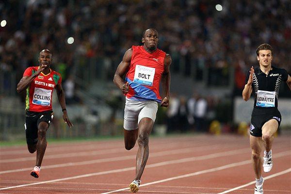 Bolt to return to Rome Samsung Diamond League
