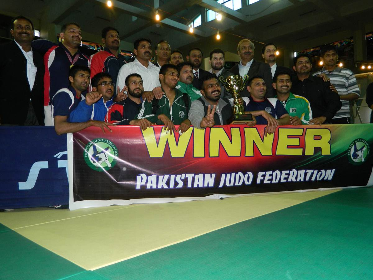 Wapda got 1st and Army 2nd in Judo
