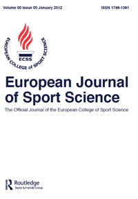 The European Journal of Sport Science has been accepted
