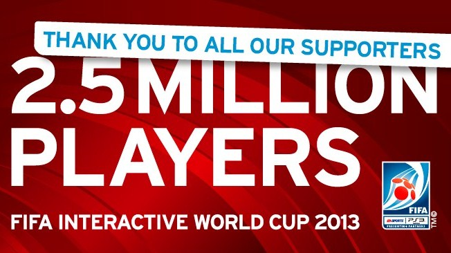 Record-breaking 2.5 million players take part