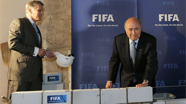 Joseph S. Blatter launches FIFA museum project