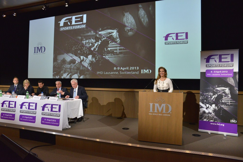 FEI Sports Forum opens with debate