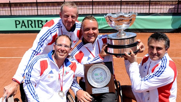BNP Paribas World Team Cup wheelchair tennis