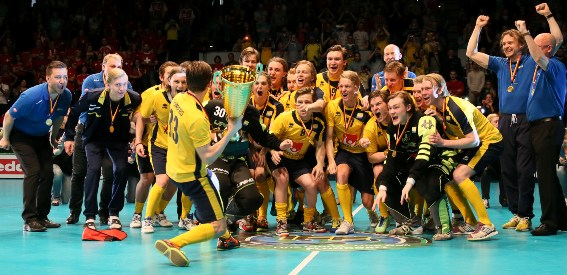Sweden regained the title of Men´s U19 Floorball