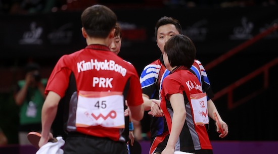DPR Korea & Korea Republic Break Barriers with Table Tennis