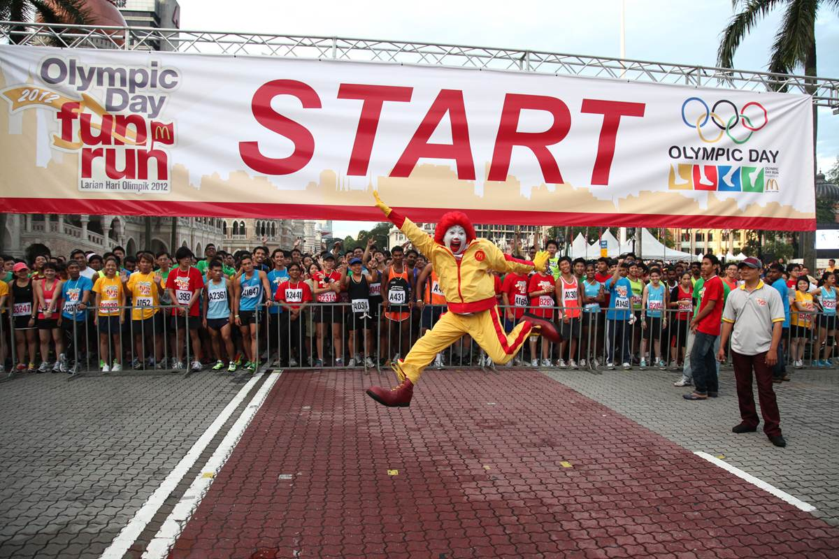 NEW DATE FOR THE OLYMPIC DAY FUN RUN
