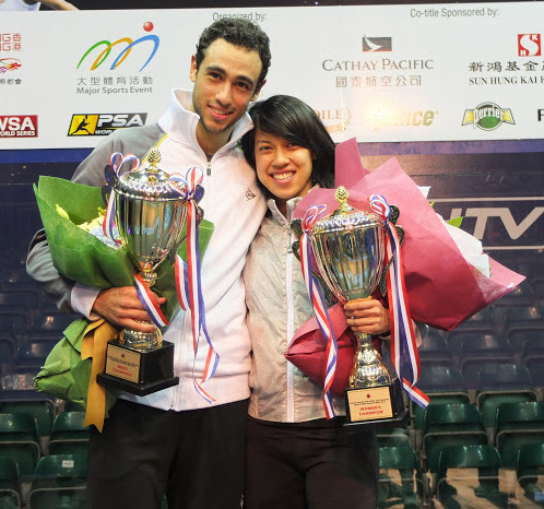Women's & Men's World Number One in Squash Olympic Presentation